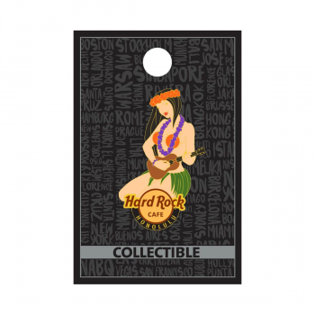Honolulu Hula Girl Pin