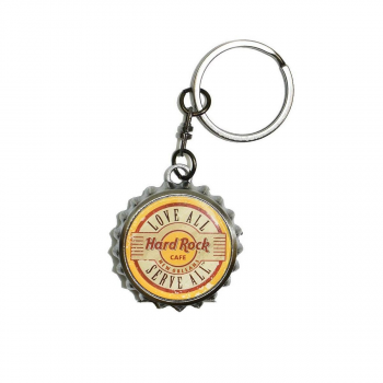 Bottle Cap Keychain & Bottle Opener