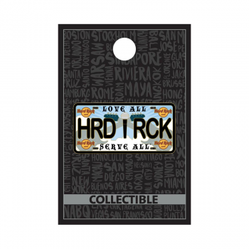 Core License Plate Pin