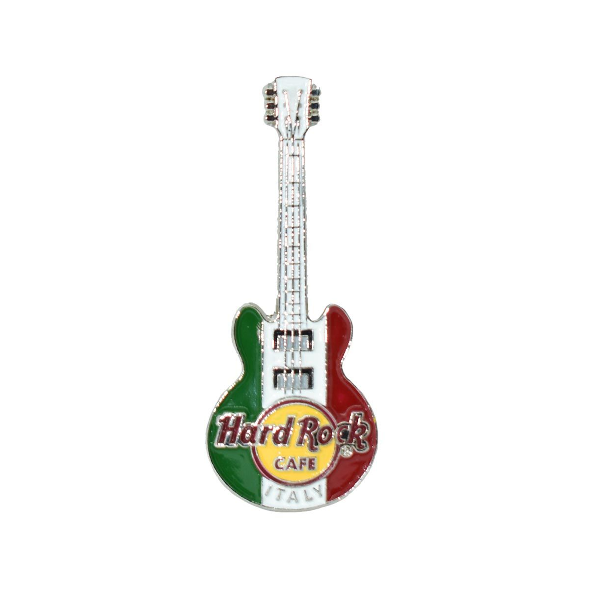 3D Country Flag Guitar Pin Italy