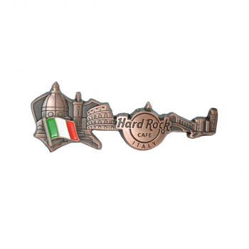 3D Skyline Guitar Country Pin Italy