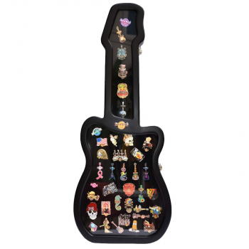 Guitar Shaped Pin Case