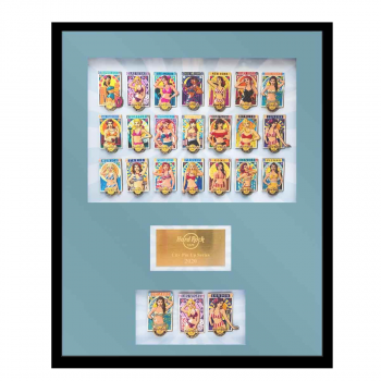 Pin Up Girls Series Framed Set