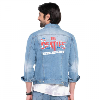 Unisex The Beatles Denim Jacket