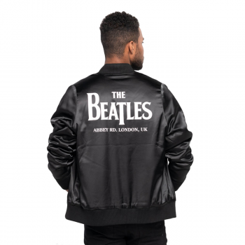 Unisex The Beatles Satin Bomber Jacket