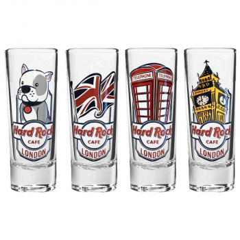 Union Jack 4 Pack Cordial Set