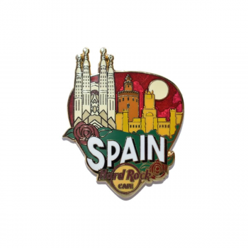 Country Greetings From Pin Spain