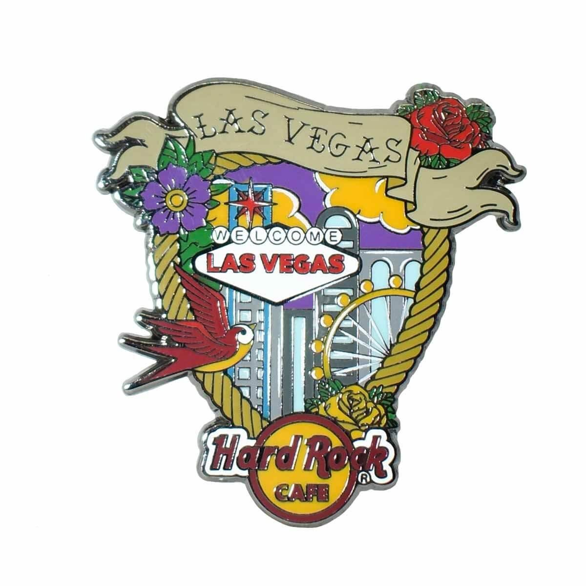 Tattoo City Pin Las Vegas