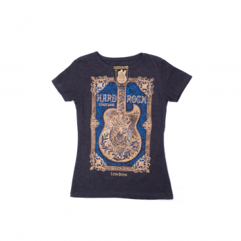 Women's Couture Framed Guitar Tee