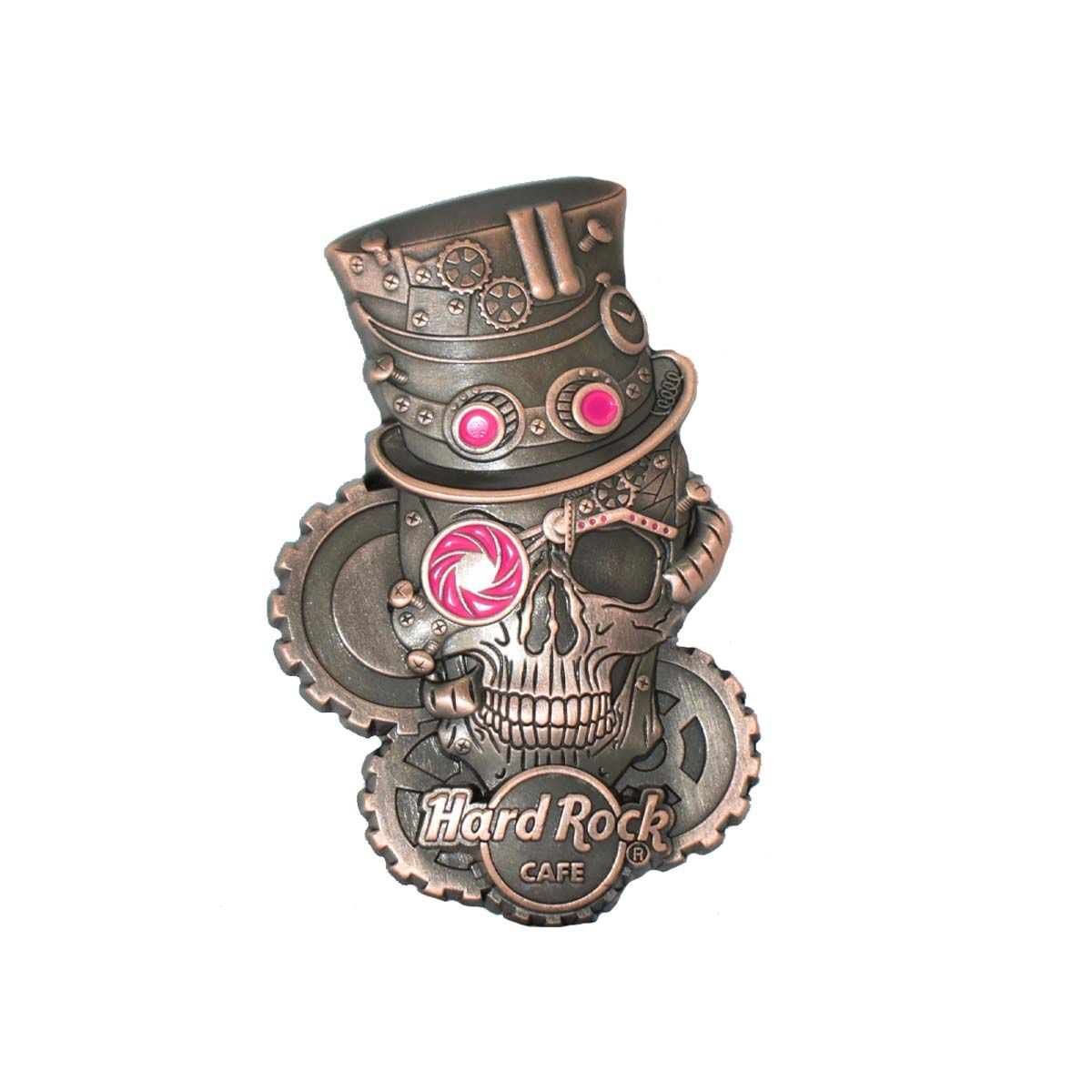 3D Steampunk Skull Pin #3