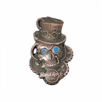 3D Steampunk Skull Pin #1