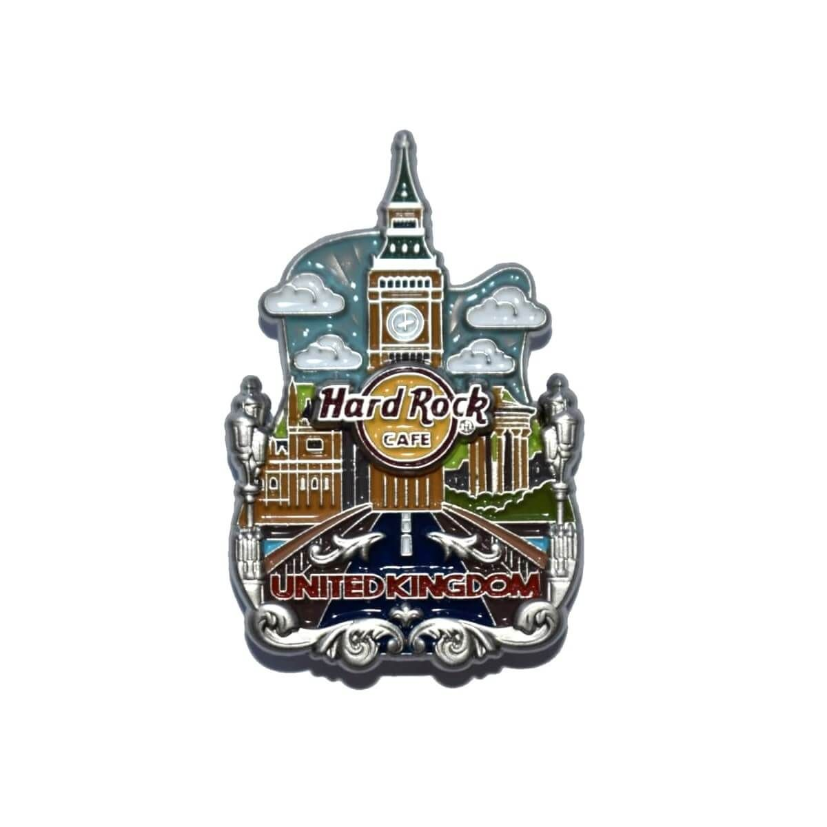 3D Country Icon Pin UK