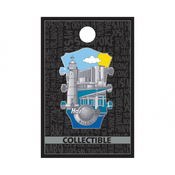 3D Cityscape Headstock Pin