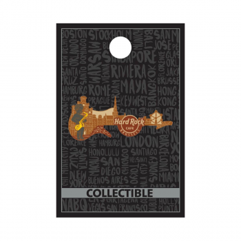 Core 3D Skyline Guitar Pin