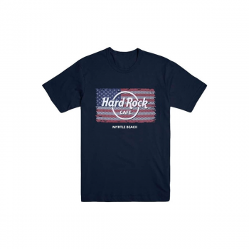 Boy's Flag Repeat City Name Tee