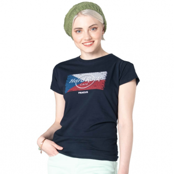 Women's Flag Repeat City Name Tee