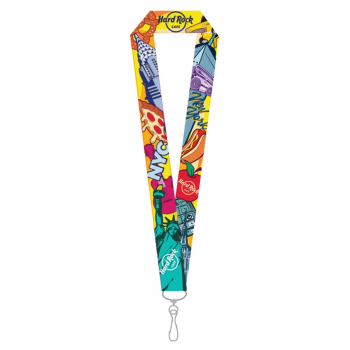 New York City Pin Lanyard