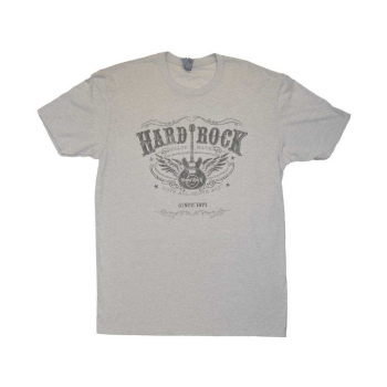 Men's Whiskey Label Guitar Tee