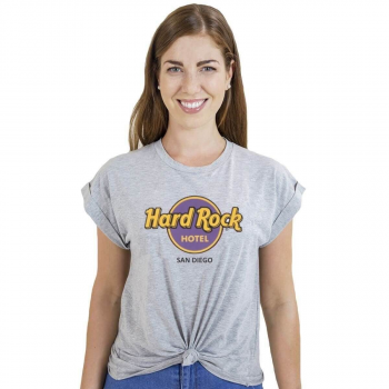 Women's Knotted Tie-Up Tee