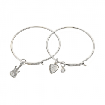 Live Love Rock Charm Bracelet Boxed Set