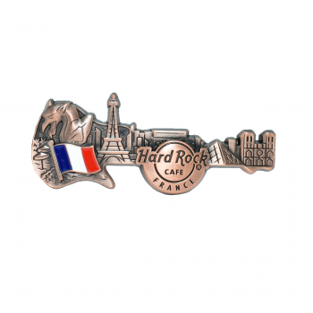 3D Skyline Guitar Country Pin France
