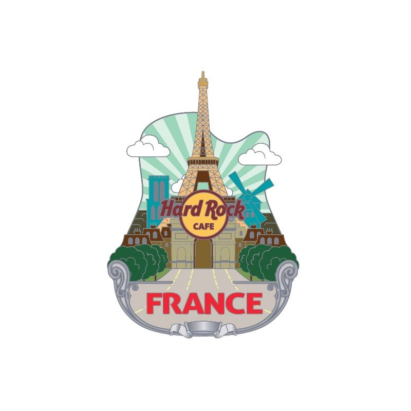 3D Country Icon Pin France