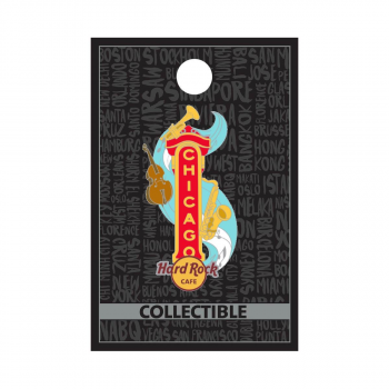 Chicago Marquee Pin