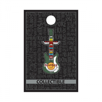 Seattle Totem Pole Guitar Pin