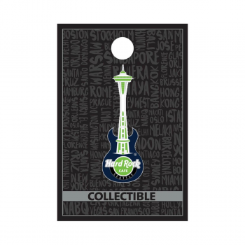 Seattle Space Needle Guitar Pin