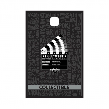Hollywood Clapboard Pin
