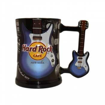 Guitar Handle Mug Blue