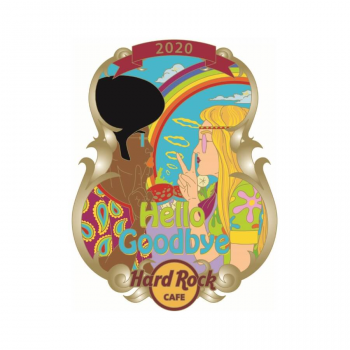 Lyric Series Hello Goodbye Pin