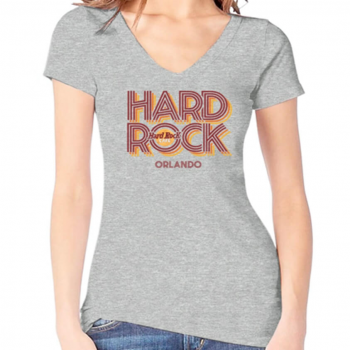 Women's Heritage Retro V Neck Tee