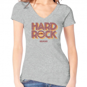 Women's Heritage Retro V-Neck Tee