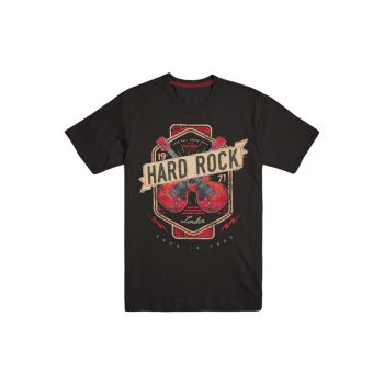 Men's Twin Guitar Applique Tee
