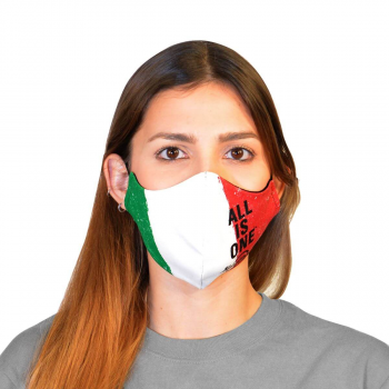 Country Flag Face Mask Italy