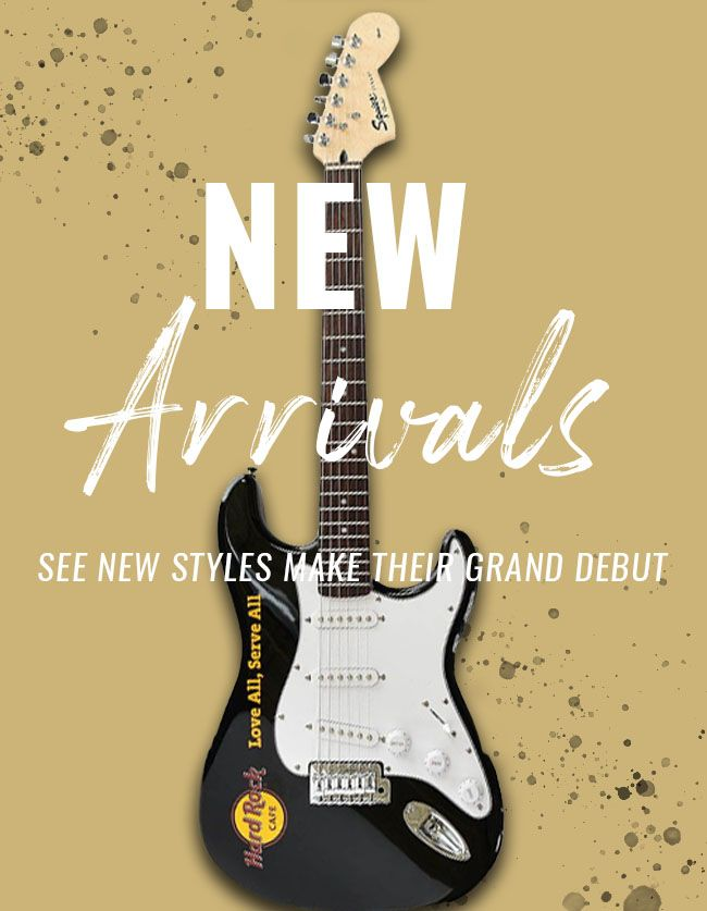 Hard Rock New Arrivals