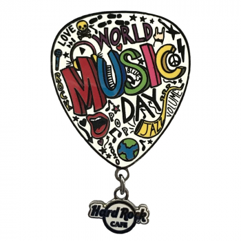 2020 World Music Day Pin