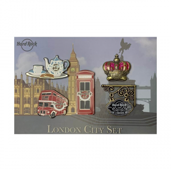 London Booster Pin Set