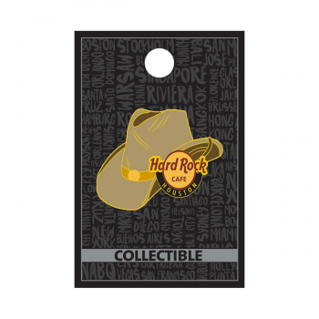 Houston 3D Cowboy Hat Pin