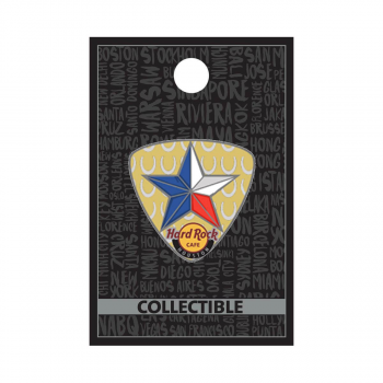 Houston Lonestar Guitar Pick Pin