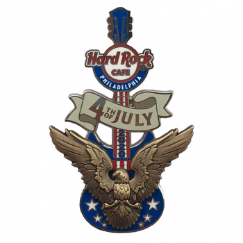 2020 4th of July 3D Pin Philadelphia