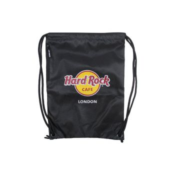 8371d0b230f Hard Rock Logo Drawstring Backpack Hard Rock Logo Drawstring Backpack