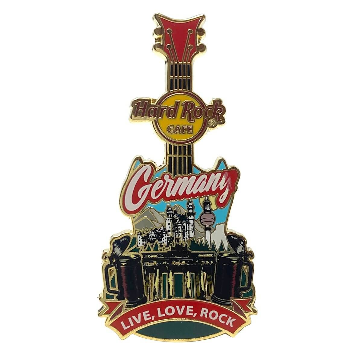 Country Guitar Pin Germany
