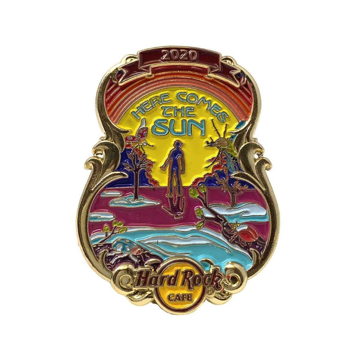3D Lyric Series Here Comes the Sun Pin