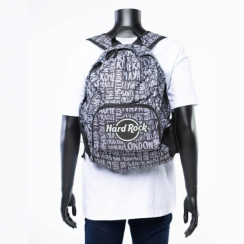 Destination Print Backpack