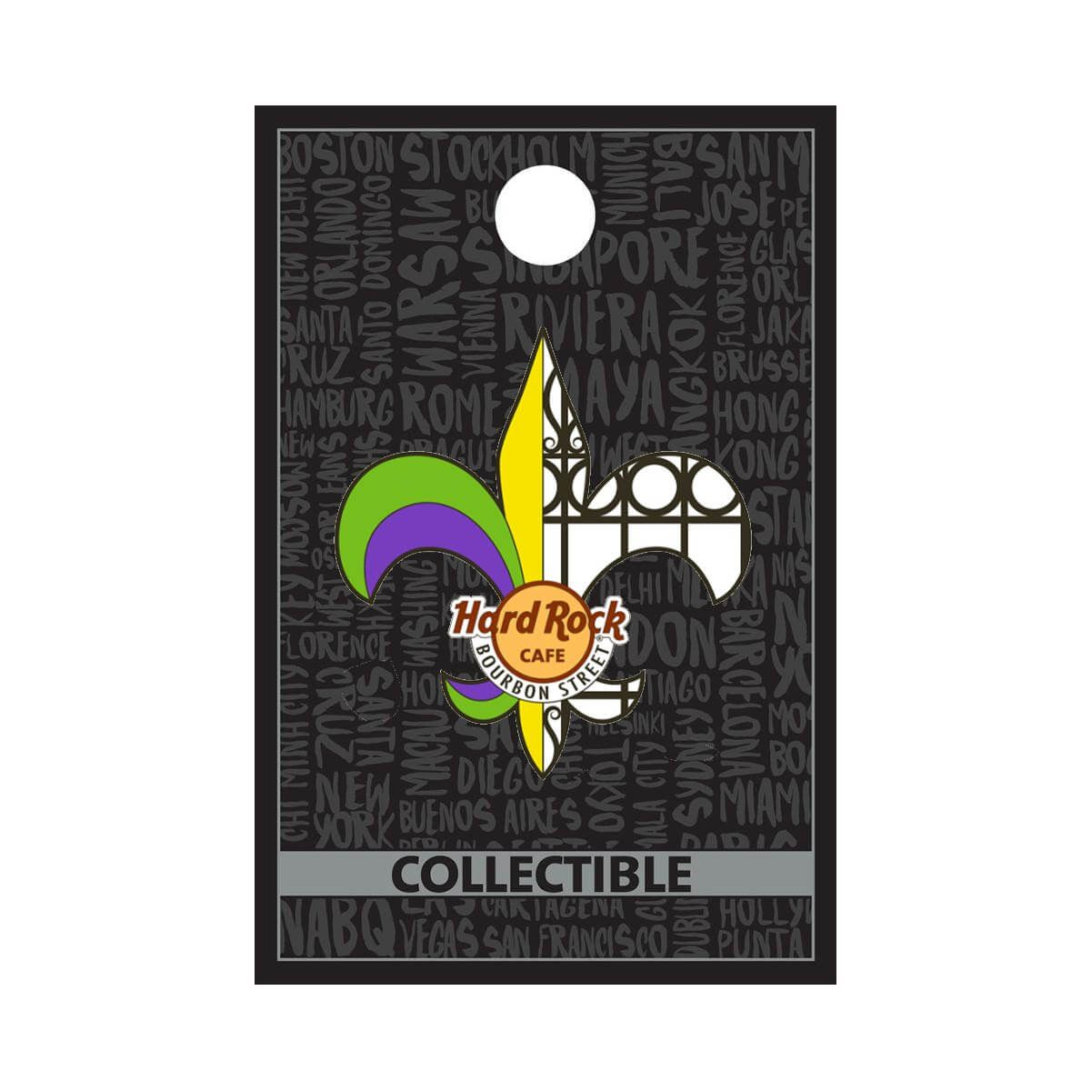 New Orleans Bourbon St Wrought Iron Pin