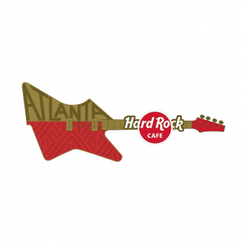 3D Sculpted City Guitar Pin