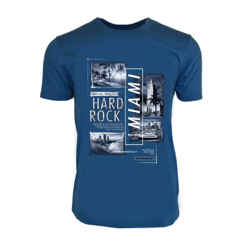 Men's Mixed Block City Tee