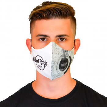 Acoustic Guitar Face Mask